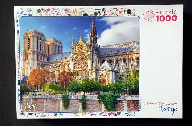 Katedra Notre- Dame, Puzzle 1000 sztuk Trefl