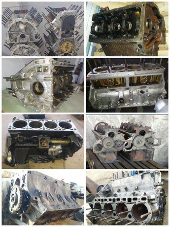 Блок двигателя Зил Газель 406 402 421 Газ 53 66 ЯМЗ 236 238 КамАЗ МТЗ