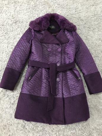 Пальто, пуховик, осень-зима, шерсть