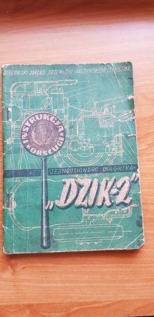 Dzik-2 Instrukcja obsługi ciągnika jednoosiowego