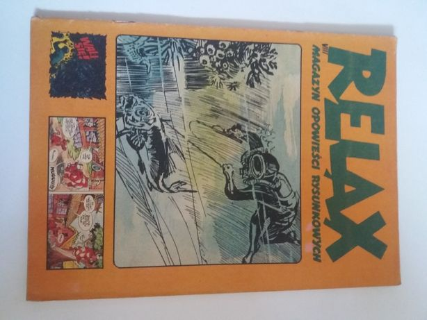 Relax #8 - mag. komiksowy