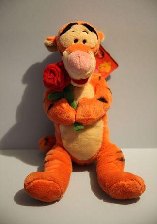 Тигр с розой