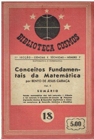8291 - Conceitos Fundamentais da Matemática- 2º Vol de Bento de Jesus