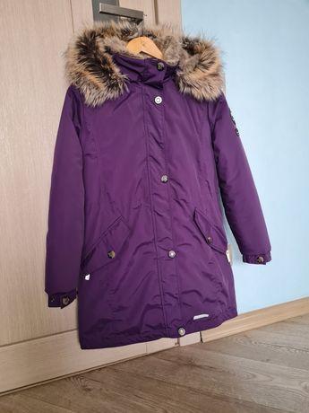 Куртка парка зимняя для девочки lenne Estella .