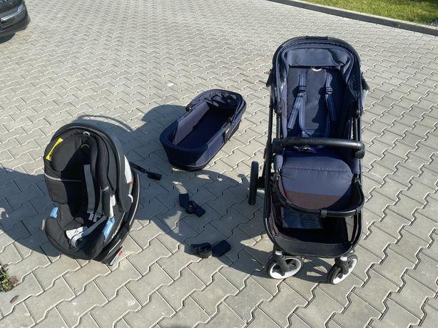 Zestaw Cybex Balios M + Aton 5 z bazą (spacerowka, gondola, nosidlo)