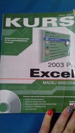 Excel kurs książka 2003