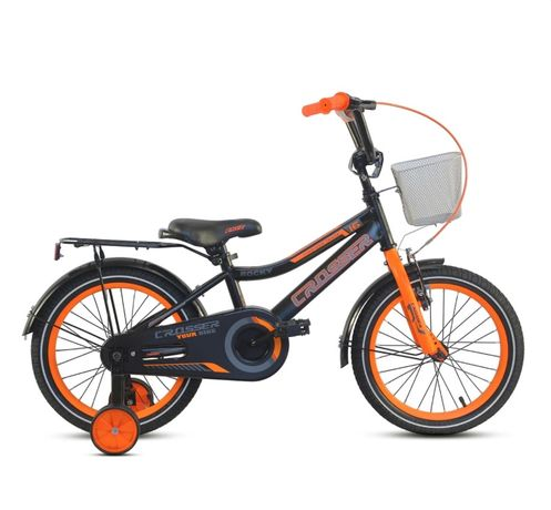 Детский велосипед ROCKY CROSSER-13 Синий Розовый Зеленый Оранжевый