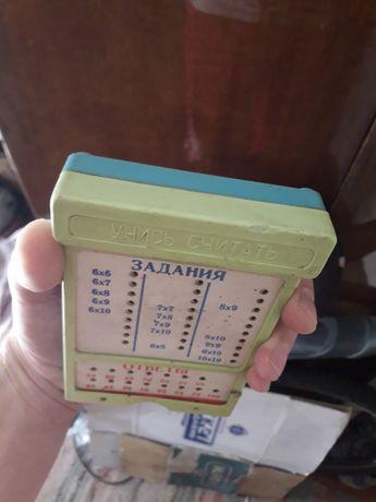 Продам или обменяю децкий календарик с фонариком СССР.