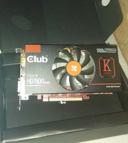 karta graficzna Club 3D HD7850 1gb