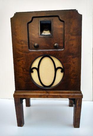 Antyk CENTRUM WAXELSTROM 1935 Stare Szwedzkie Radio Lampowe