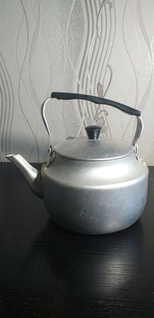 Чайник СССР, 2,5 литра, новый, алюминиевый