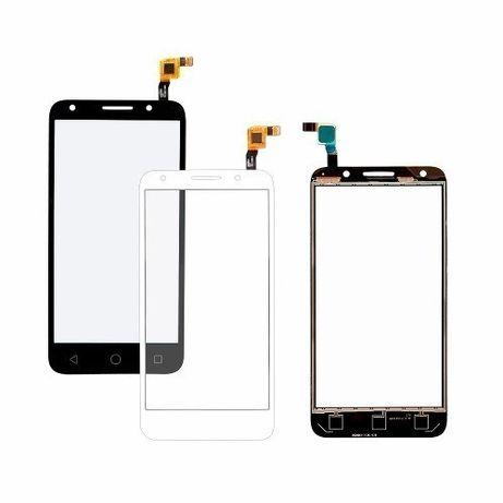 """Vidro + Touch para Alcatel One Touch Pixi 4 -5.0"""" Preto e Branco"""