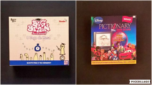 JOGO de Tabuleiro Big Brain Academy Disney Pictionary