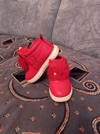 Осінні черевички для принцески.