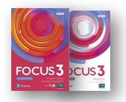 Focus 3 2nd edition , Student's book + Workbook + audio PDF