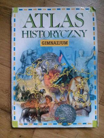 Atlas historyczny gimnazjum plus plakat
