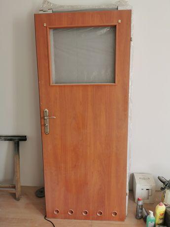 Drzwi łazienkowe 80 lewe
