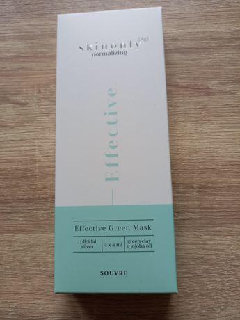 Skinonly Maska Z Zieloną Glinką Effective Green Mask Souvre