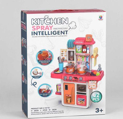Детская кухня с водой и паром MJL 709 , звук, свет, реал фото