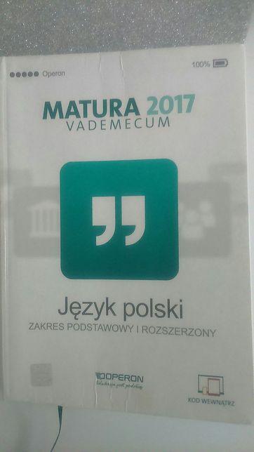 Vademecum Matura 2017 polski Operon