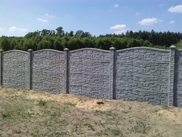 Ogrodzenia płoty betonowe-montaż,słupki,podmórówka,ogrodzenia betonowe