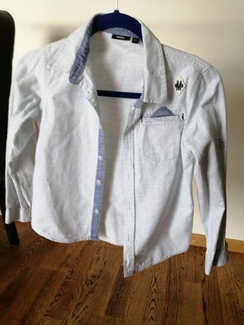 Koszula bawełniana jasnoniebieska Mexx roz 134