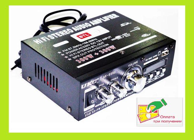 Усилитель AK-699D  MP3 FM 220v 12v