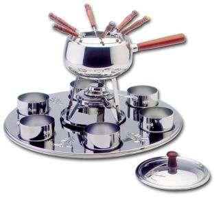 fondue artame inox novo - cozinha
