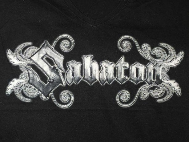 Koszulka z napisem Sabaton