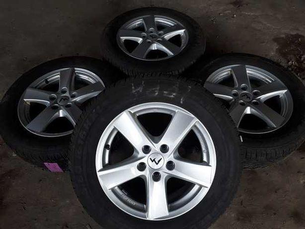 Титанові диски R16 5x112 AUTEC Audi Seat Skoda Volkswagen