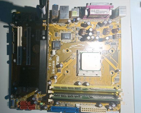 Płyta Główna Asus MZN-MX+ Procesor+Karta graficzna+3GB RAM+