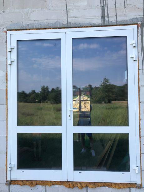 Drzwi wejściowe zewnętrzne (Aluminium ciepłe)