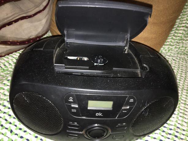 Radio portatil com cd e pen