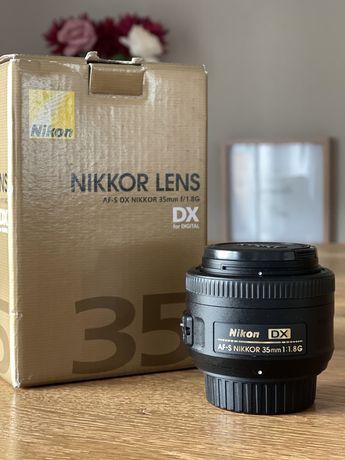 Objectiva AF-S Nikkor 35mm  1:1.8G