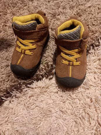 Ботинки зима замш