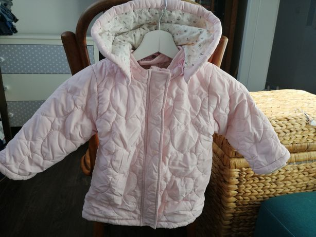 Pikowana kurteczka dla dziewczynki Smyk rozmiar 86