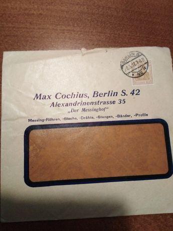 Koperty pocztowe lata 20- 30- 40