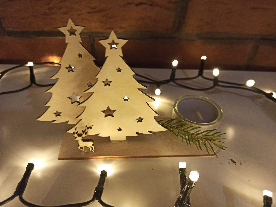 Niepowtarzalny stroik świąteczny z brzozy. Łódź - image 1