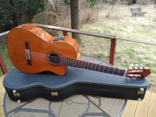 Esteve 1GR07CE gitara klasyczna Fishman Prefix Pro CASE Lite drewno !!