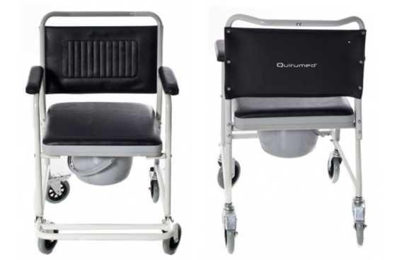 Cadeira de banho/sanitária com rodas