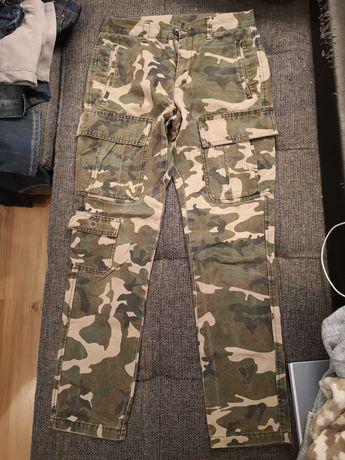 Spodnie męskie moro rozmiar S
