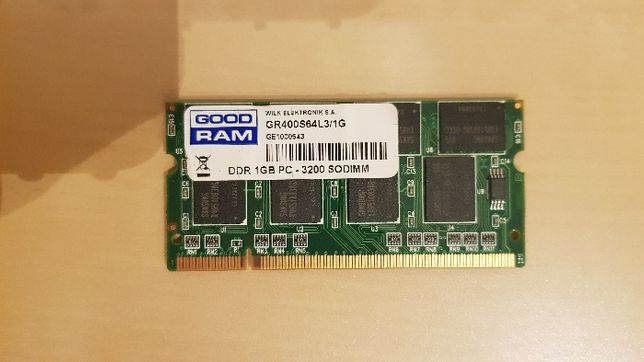 Pamięć RAM Goodram 1GB DDR SO-DIMM