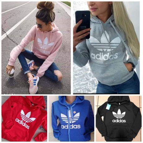 Bluza z kapturem damska Adidas s m l xl xxl  Kolory