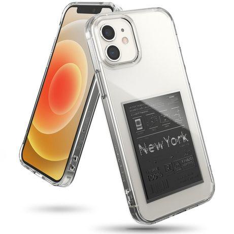 Capa Silicone Ringke Iphone 12 Mini - Transparente / Preto