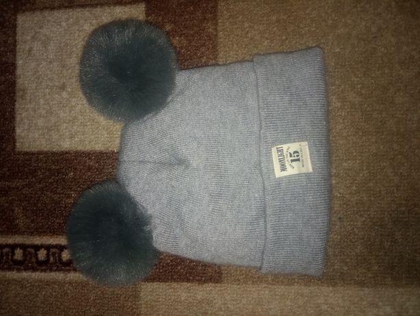 Продам шапку демисезонную на ребенка, шапка осень-весна на мальчика