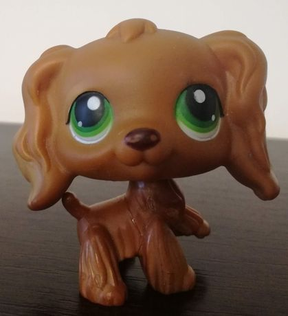 littlest pet shop pies piesek spaniel - UNIKAT