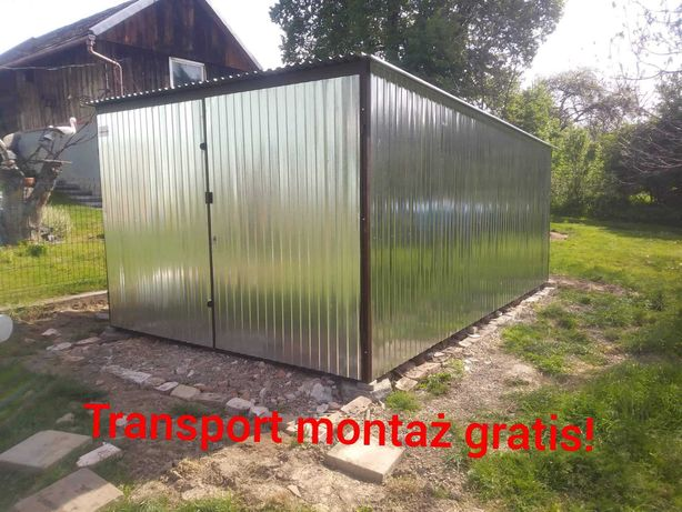 Garaże blaszane Garaż blaszany producent 3×5 Tanio i solidnie!