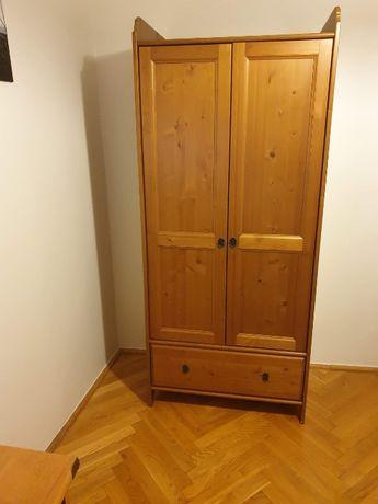 szafa ubraniowa z szufladą