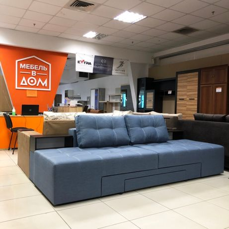 Хит продаж! Угловой диван трансформер Домино в различных цветах!