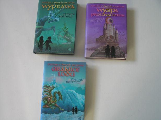 """Wyprawa"""" Wyspa przeznaczenia"""" Granice lodu """" zestaw 3 książki"""
